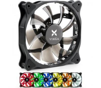 Кулер до корпусу Vinga RGB fan-01