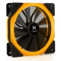 Кулер до корпусу Vinga LED fan-02 orange
