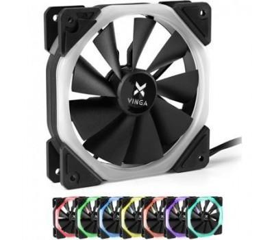 Кулер до корпусу Vinga RGB fan-03