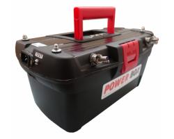 Универсальный тяговый аккумулятор для лодки DAV POWER BOX PB-C90-12-Li-i-B