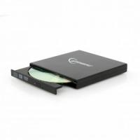 Зовнішній оптичний DVD привід Gembird DVD-USB-02-SV, USB2.0
