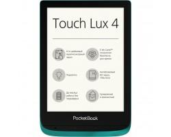 Електронна книга PocketBook 627 Touch Lux4 Emerald (PB627-C-CIS)
