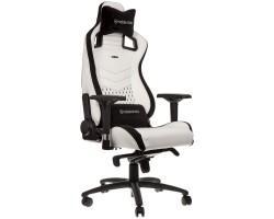 Крісло ігрове Noblechairs Epic White/Black (NBL-PU-WHT-001)