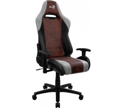Крісло ігрове Aerocool BARON Burgundy Red