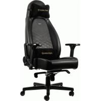 Крісло ігрове Noblechairs Icon Black/Gold (GAGC-102)