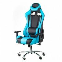 Крісло ігрове Special4You ExtremeRace black/blue (000002297)