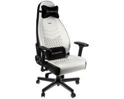 Крісло ігрове Noblechairs Icon White/Black (NBL-ICN-PU-WBK)