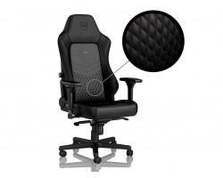 Крісло ігрове Noblechairs Hero Real Leather Black (NBL-HRO-RL-BLA)