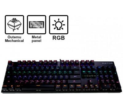 Клавіатура Hator Starfall Outemu Red (HTK-608)