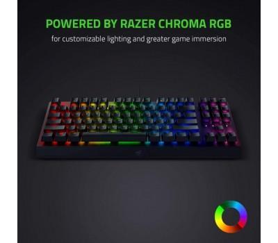 Клавіатура Razer BlackWidow V3 TKL Razer Green RU (RZ03-03490700-R3R1)