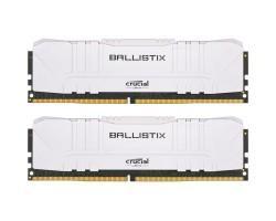 Модуль пам'яті для комп'ютера DDR4 16GB (2x8GB) 3600 MHz Ballistix White MICRON (BL2K8G36C16U4W)
