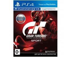 Гра SONY Gran Turismo Sport (поддержка VR) [PS4, Russian version] Blu (9828556)