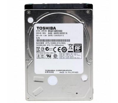"""Жорсткий диск для ноутбука 2.5"""" 500GB TOSHIBA (MQ01ABD050)"""