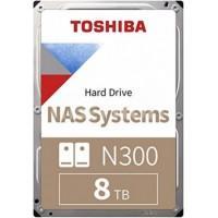 Жорсткий диск Toshiba N300 8TB SATA/256MB (HDWG180UZSVA)