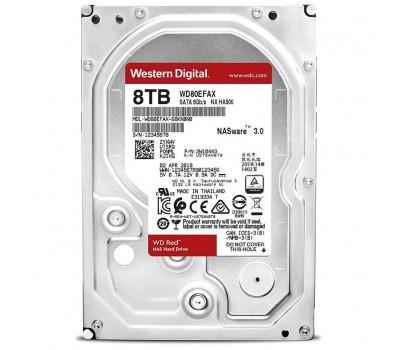 """Жорсткий диск 3.5"""" 8TB Western Digital (WD80EFAX)"""