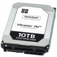 """Жесткий диск 3.5"""" 10TB WDC Hitachi HGST (0F27454 / HUH721010ALE604)"""