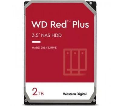 "Жорсткий диск 3.5"" Western Digital Red Plus 2TB 5400rpm 128МB WD20EFZX SATA III"