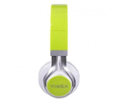 Навушники Vinga HSM040 White/Green (HSM040WG)