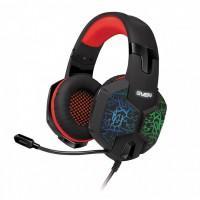 Навушники Sven AP-U988MV Black/Red USB