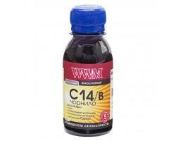 Чорнило WWM Canon CLI-451Bk/CLI-471Bk 100г Black (C14/B-2)