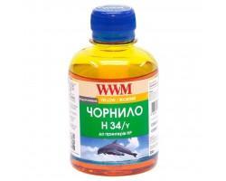 Чорнило WWM HP № 22/134/136 (8766/9361) yellow (H34/Y)
