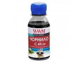 Чорнило WWM Canon GI-490 100г Black pigm. (C49/BP-2)