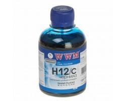 Чорнило WWM HP №10/ 11/12/13/14/82 (Cyan) (H12/C)