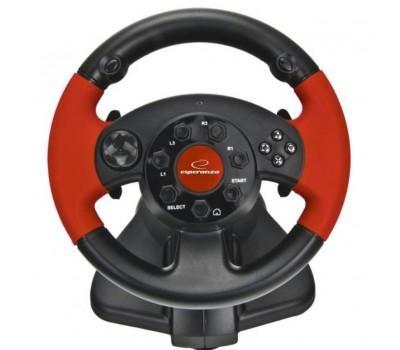 Кермо Esperanza PC/PS1/PS2/PS3 Black-Red (EG103)