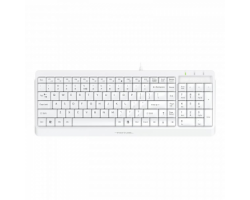 Клавіатура дротова A4Tech FK15 USB White