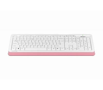 Клавіатура дротова A4Tech FK10 USB Pink