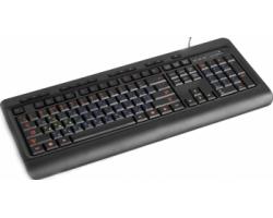 Клавіатура HQ-Tech KB-310FMC USB Multimedia