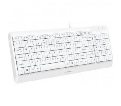 Клавіатура A4Tech FK15 USB White