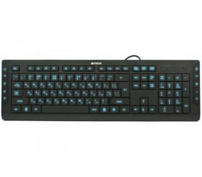 """Клавіатура A4Tech KD-600L """"Led"""" Black USB"""