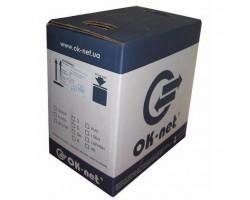 Кабель мережевий OK-Net UTP 500м 4 пары (КПВ-ВП (350) 4х2х0,51 / 500)