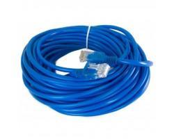 Патч-корд 8м, UTP, cat.5e, CCA, blue EXTRADIGITAL (KBP1770)