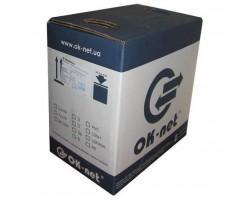 Кабель мережевий OK-Net FTP 500м (КППЭ-ВП (100) 4*2*0,51)