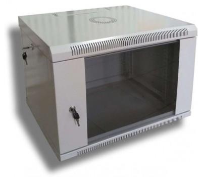 "Шафа настінна Hypernet 6U 19"" 600х600 (WMNC66-6U-FLAT)"