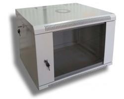 """Шафа настінна Hypernet 6U 19"""" 600x500 (WMNC-500-6U-FLAT)"""