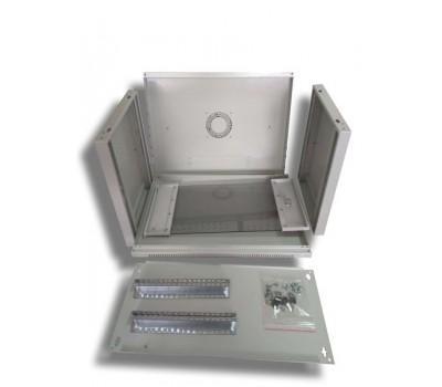 """Шафа настінна Hypernet 4U 19"""" 600x500 (WMNC-500-4U-FLAT)"""