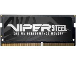 Модуль пам'яті для ноутбука  PATRIOT Viper Steel SODIMM 8G DDR4 3000MHz (PVS48G300C8S) (F00231386)