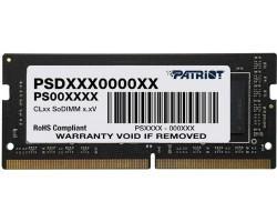 Модуль пам'яті для ноутбука Patriot DDR4 4GB 2666 MHz Black (PSD44G266682S)