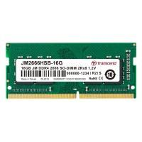 Модуль пам'яті для ноутбука SoDIMM DDR4 16GB 2666 MHz Transcend (JM2666HSE-16G)