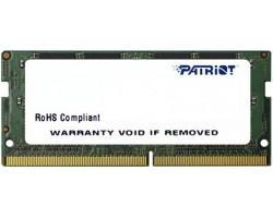 Модуль пам'яті для ноутбука SoDIMM DDR4 4GB 2400 MHz Patriot (PSD44G240041S)