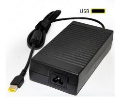 Блок живлення для ноутбука Lenovo 20V 8.5A 170W USB без каб. піт. (AD107015) bulk