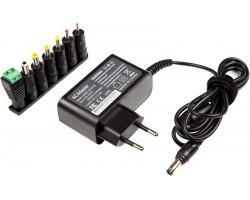 Універсальний блок живлення PowerPlant Q36 220V, 30W 12V 2.5A (NA700226)