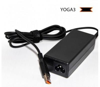 Блок живлення для ноутбука Lenovo 20V 3.25A 65W Yoga3 без каб. піт. (AD107016) bulk
