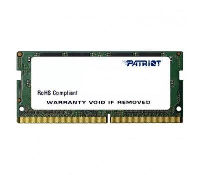 Модуль пам'яті для ноутбука SoDIMM DDR4 8GB 2666 MHz Patriot (PSD48G266682S)