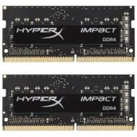 Модуль пам'яті для ноутбука SoDIMM DDR4 16GB (2x8GB) 3200 MHz HyperX Impact Kingston (HX432S20IB2K2/16)