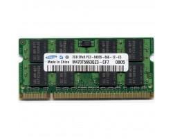 Модуль пам'яті для ноутбука SoDIMM DDR2 2GB 800 MHz Samsung (M470T5663QZ3-CF7_Ref)