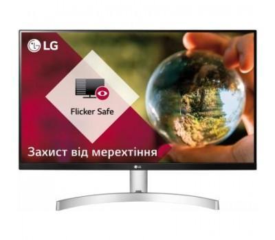 Монітор LG 27MK600M-W
